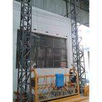 10m poháněná hliníková lana zavěšená platforma zlp1000 jednofázová 2 * 2.2kw
