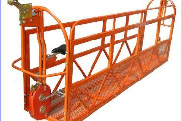 1000 kg 7,5 mx 3 sekce Hliníková slitinová zavěšená pracovní plošina ZLP1000