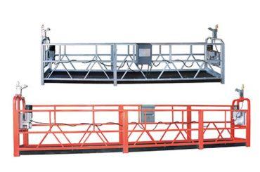 10m ocelové / hliníkové zavěšené přístupové zařízení zlp1000 pro 3 pracovníky