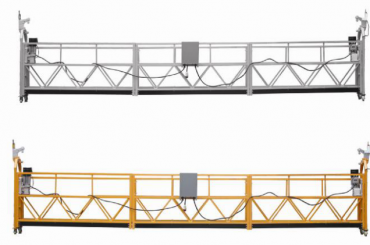 prodej za tepla hliníková slitina zavěšená plošina / zavěšená gondola / zavěšená kolébka / zavěšená kyvná fáze s tvarem e