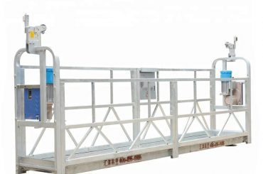 10m 800kg zavěšené systémy lešení hliníková slitina s výškou zdvihu 300 m