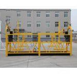 vysoce kvalitní a horké zlp630 zlp800 výkonová pracovní platforma zlp 630 zavěšená platforma