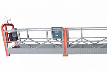 1000 kg 2,5 m * 3 sekce zavěšené přístupové zařízení zlp1000 s bezpečnostním zámkem 30kn
