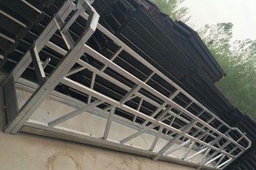 zlp630 / 800 ll tvar hliníkové slitiny, ocelové konstrukce zavěšené pracovní plošiny výtah na okně budovy
