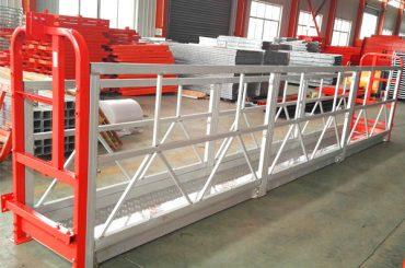 2 sekce 500 kg zavěšená pracovní plošina s 3 typy počítadla