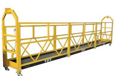 Ocelová žárově pozinkovaná hliníková slitinová lanová zavěšená plošina 1.5KW 380V 50HZ