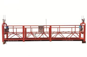 ocel / žárově pozinkovaná dočasně zavěšená plošina, držák údržby zlp500