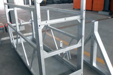 vysoká bezpečnost lana zavěšená plošina výtahy instalační plošina zlp630 zlp800 zlp1000