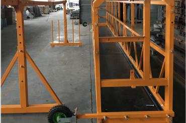 čištění oken zavěšená pracovní plošina bezpečnostní zip 630 s výtahem ltd6.3