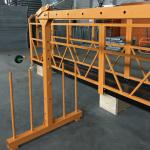 jednofázová zavěšená lanová plošina 800 kg 1,8 kw, rychlost zvedání 8-10 m / min
