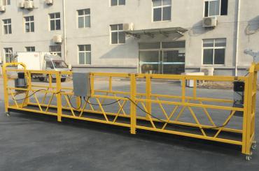 výkonná lanová zavěšená lanová platforma o délce 6 metrů s převisem nosníku